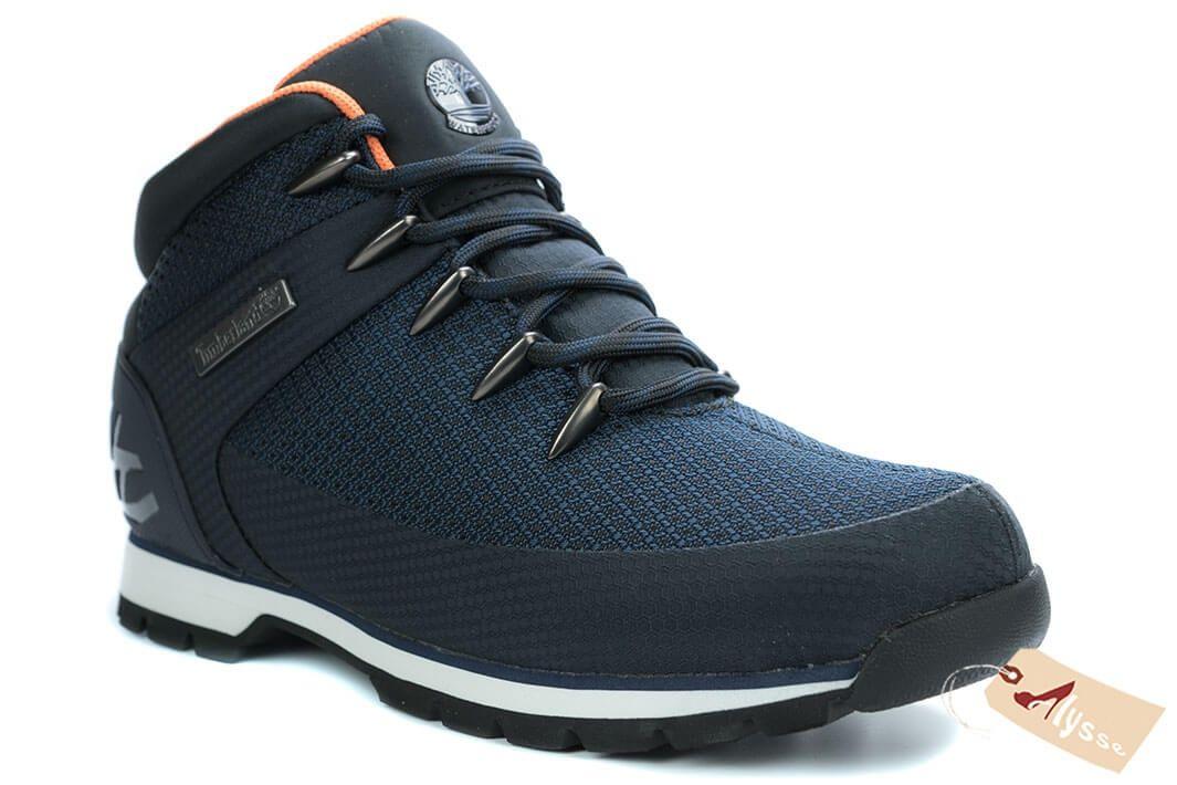 timberland chaussures hommes bleu